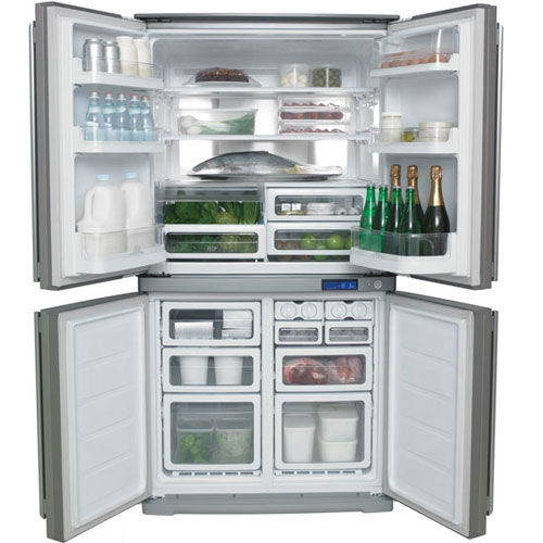 Tủ lạnh Electrolux - Làm lạnh đa chiều
