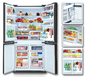 Tủ lạnh Sharp - Tiện lợi tại mỗi chi tiết