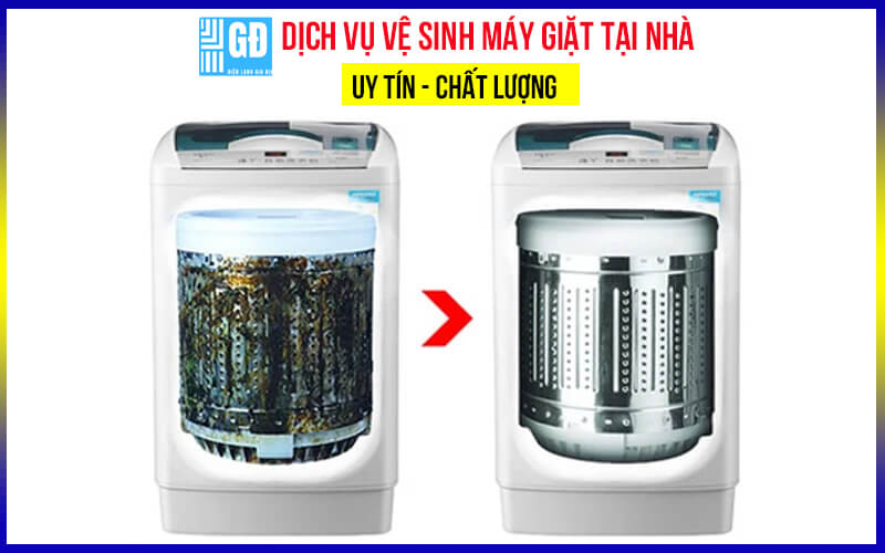Dịch vụ vệ sinh máy giặt   Sửa máy giặt tại nhà