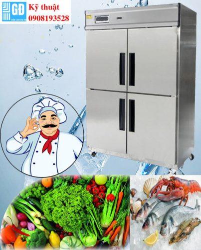 Sử dụng tủ đông đúng cách