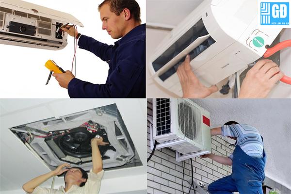 Sửa máy lạnh chuyên nghiệp và uy tín