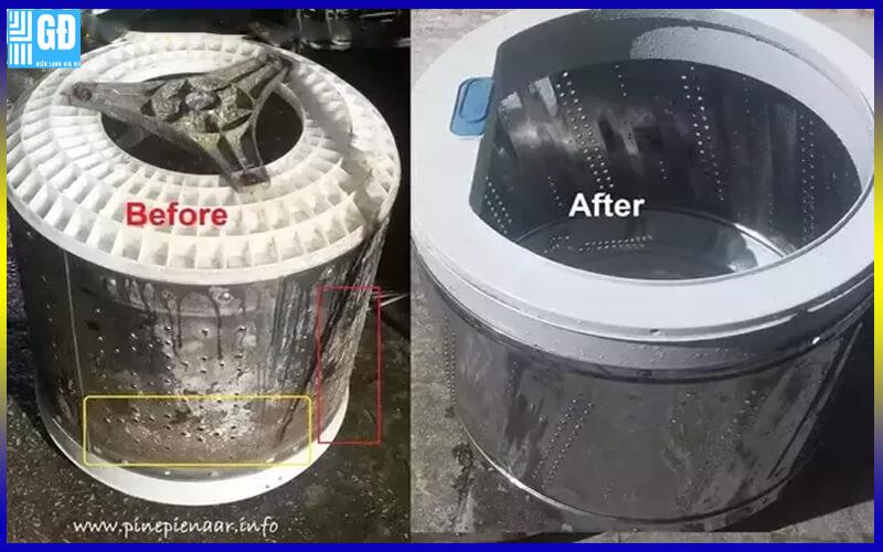 Vệ sinh máy giặt tại TP.HCM
