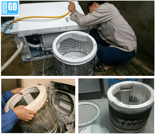 Vệ sinh máy giặt quận Tân Bình
